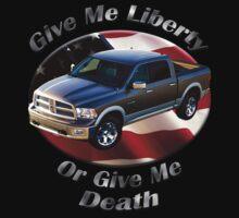 Dodge Ram Truck Give Me Liberty Kids Tee