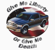 Dodge Ram Truck Give Me Liberty Kids Tee