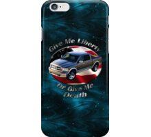 Dodge Ram Truck Give Me Liberty iPhone Case/Skin
