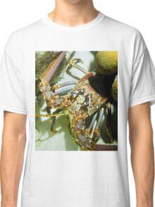 Caribbean Reef Lobster Close Up - Macro Head Photograph Classic T-Shirt