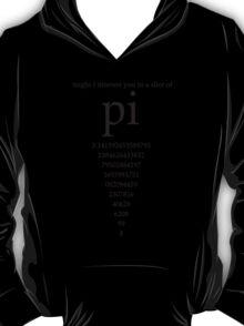 Slice of Pi Humor Nerdy Math Science Shirt T-Shirt