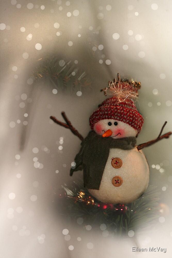 Snowman 2013 by Eileen McVey