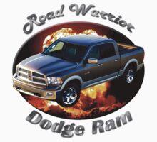 Dodge Ram Truck Road Warrior Kids Tee