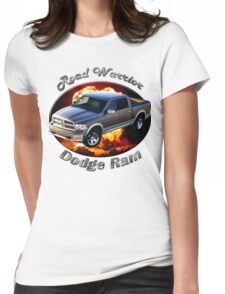 Dodge Ram Truck Road Warrior Womens Fitted T-Shirt