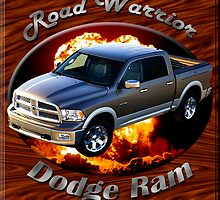 Dodge Ram Truck Road Warrior by hotcarshirts