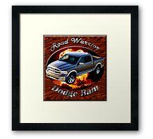 Dodge Ram Truck Road Warrior Framed Print