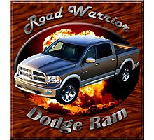 Dodge Ram Truck Road Warrior Photographic Print