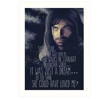 Kili - The Hobbit the desolation of Smaug Art Print