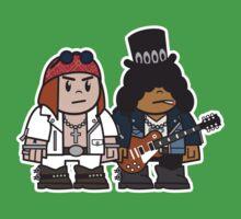 Mitesized Axl & Slash Baby Tee
