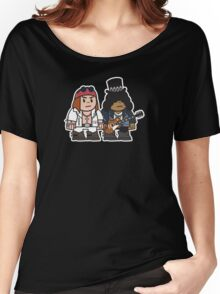 Mitesized Axl & Slash Women's Relaxed Fit T-Shirt