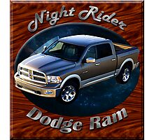 Dodge Ram Truck Night Rider Photographic Print