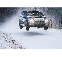 Subaru Rally Team USA Photographic Print