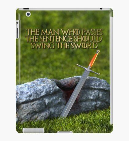 Ice - Ned Stark Quote iPad Case/Skin