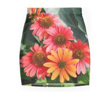 Cheyenne Spirit Echinacea Flowers in the Summer Garden Mini Skirt