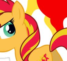 My little Pony - Sunset Shimmer Sticker