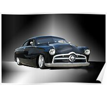 1950 Ford Custom Coupe - Studio Poster