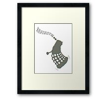 Dr Who - Dancing Dalek (Supinate!) Framed Print
