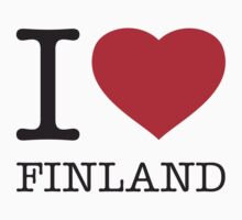 I ♥ FINLAND Kids Clothes