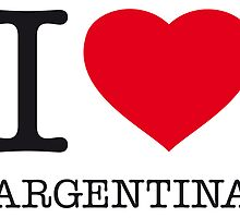 I ♥ ARGENTINA by eyesblau