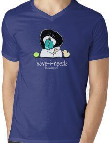 Have-i-Needs Havanese {white} Mens V-Neck T-Shirt