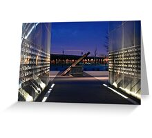 Empty Sky Memorial III Greeting Card