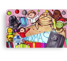 May the Presents Be With You Canvas Print