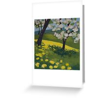 Apples and Dandelions Greeting Card