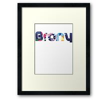 Brony Framed Print