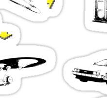 Sci-fi Transportation 2 Sticker