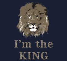 I'm the king Kids Clothes