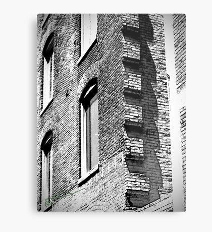 LoDo Architecture  Metal Print