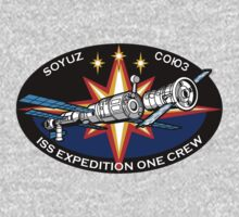 Russian Mission Patch- Soyuz TM 31 by cadellin