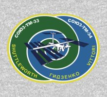 Russian Mission Patch- Soyuz TM 34 by cadellin