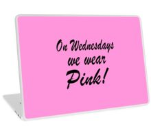 Pink - 'Mean Girls' inspired design Laptop Skin