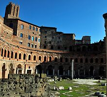 Trajan's Forum by Alessandro Pinto