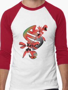 Mega Scizor Evolution Men's Baseball ¾ T-Shirt