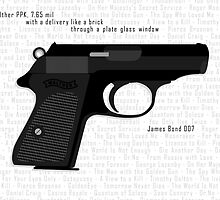 PPK Bond's Print by Adam Angold