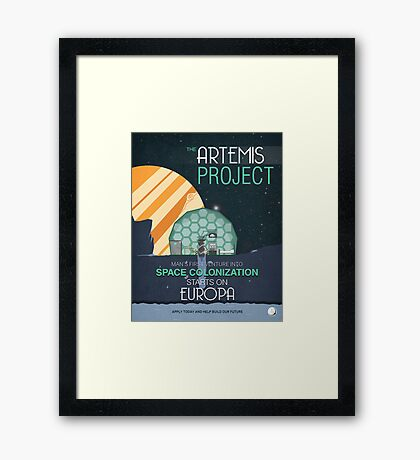 The Artemis Project Framed Print
