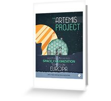 The Artemis Project Greeting Card