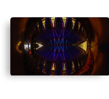 Ceiling of the United States Air Force Academy Chapel Canvas Print