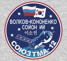Russian Mission Patch- Soyuz TMA 12 by cadellin