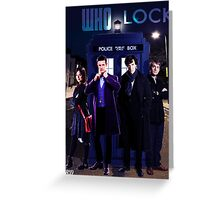 Wholock Print Greeting Card