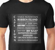 Cape Town Famous Landmarks Unisex T-Shirt
