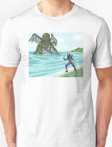 Elder God verses EVA Unisex T-Shirt