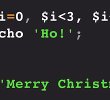 PHP Ho! Ho! Ho! Merry Christmas! by LarcusMywood