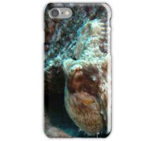 Caribbean Reef Octopus in Coral Reef home iPhone Case/Skin