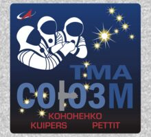 Russian Mission Patch- Soyuz TMA 03 M by cadellin