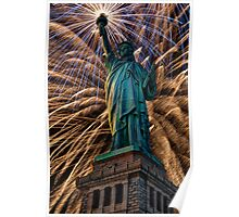 Liberty Fireworks Poster