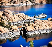Arizona Granite Dells Square by Lee Craig
