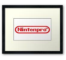 Nintenpro Video Gamer Framed Print